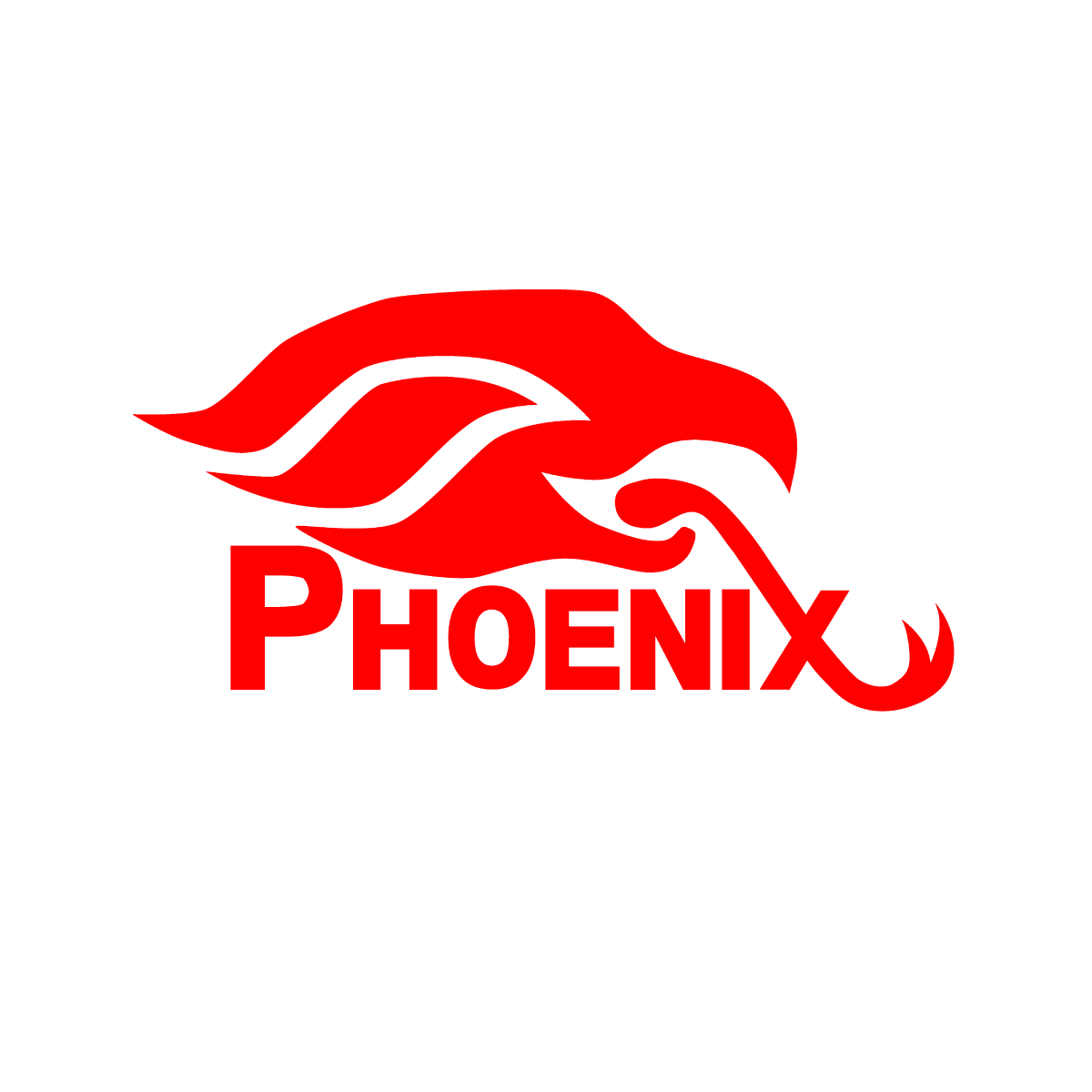 Phoenix Audio Technologies Phoenix Logo In Red